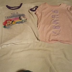 Bundle of girl's t shirts